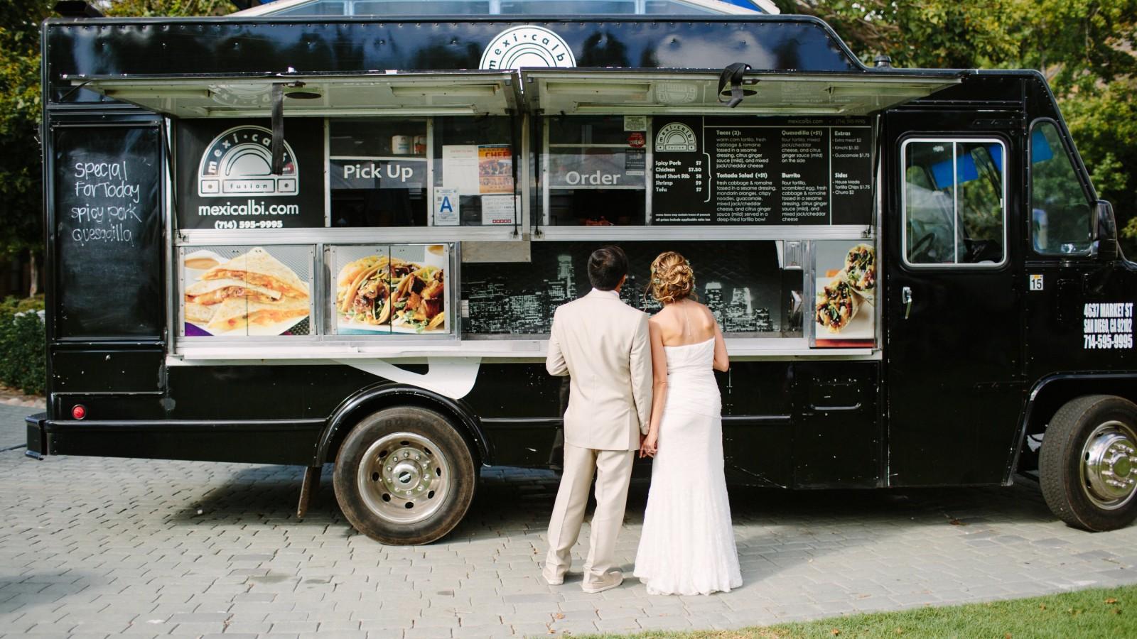 More than a wedding buffet – wedding food truck festival