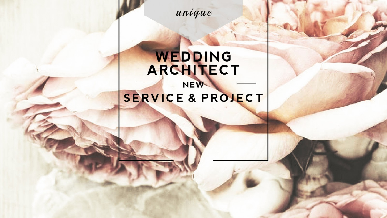 Wedding Architect – the ultimate level of event planning
