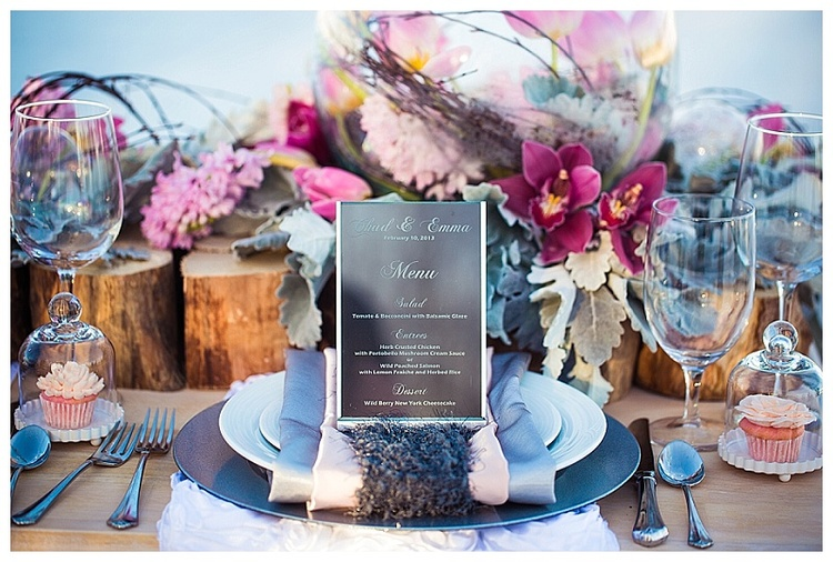 rose quartz, serenity wedding