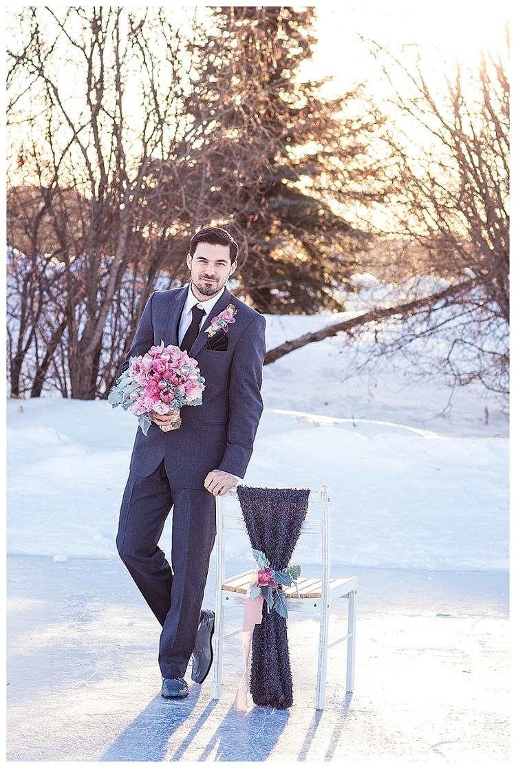 rose quartz, serenity wedding