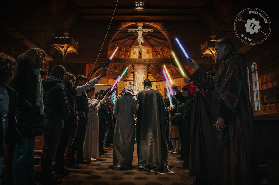 Ola & Franck's Star Wars Wedding – outstanding Polish Real Wedding in Zakopane