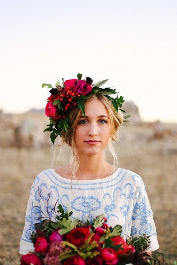 Wedding Trends 2016 flower crowns Wedding in Poland