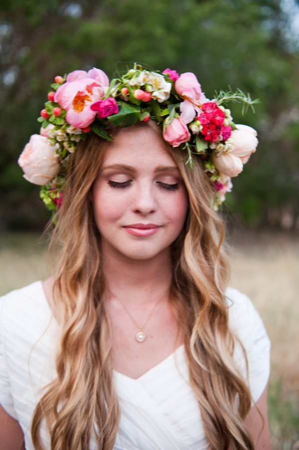 Wedding Trends 2016 Flower Crowns