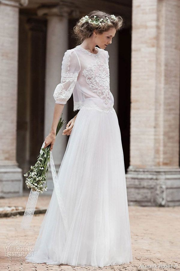 Alberta Ferretti Bridal Forever 2016 Wedding Dresses