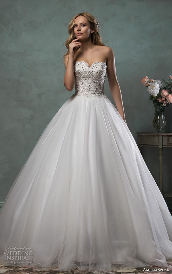 The Most Beautiful 2016 Wedding Dresses Part 1 Wedding