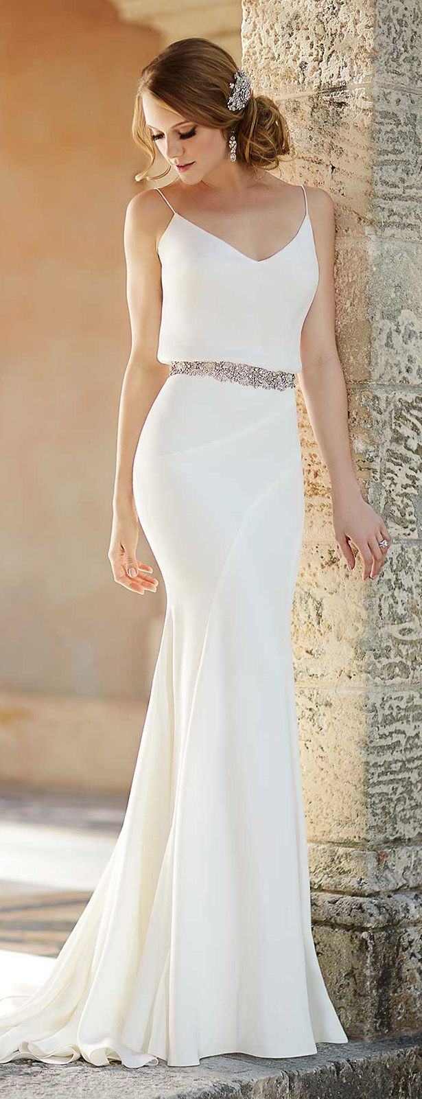e06df88b63d Dazzling Wedding Dresses from Antonio Riva Collection 2015