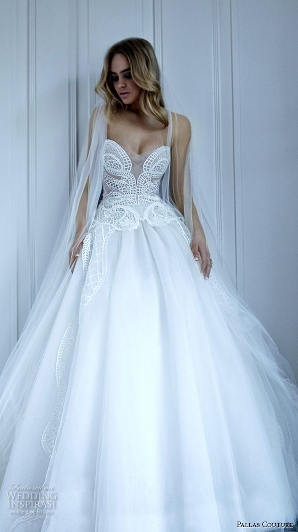 Pallas Couture 2016 Wedding Dress