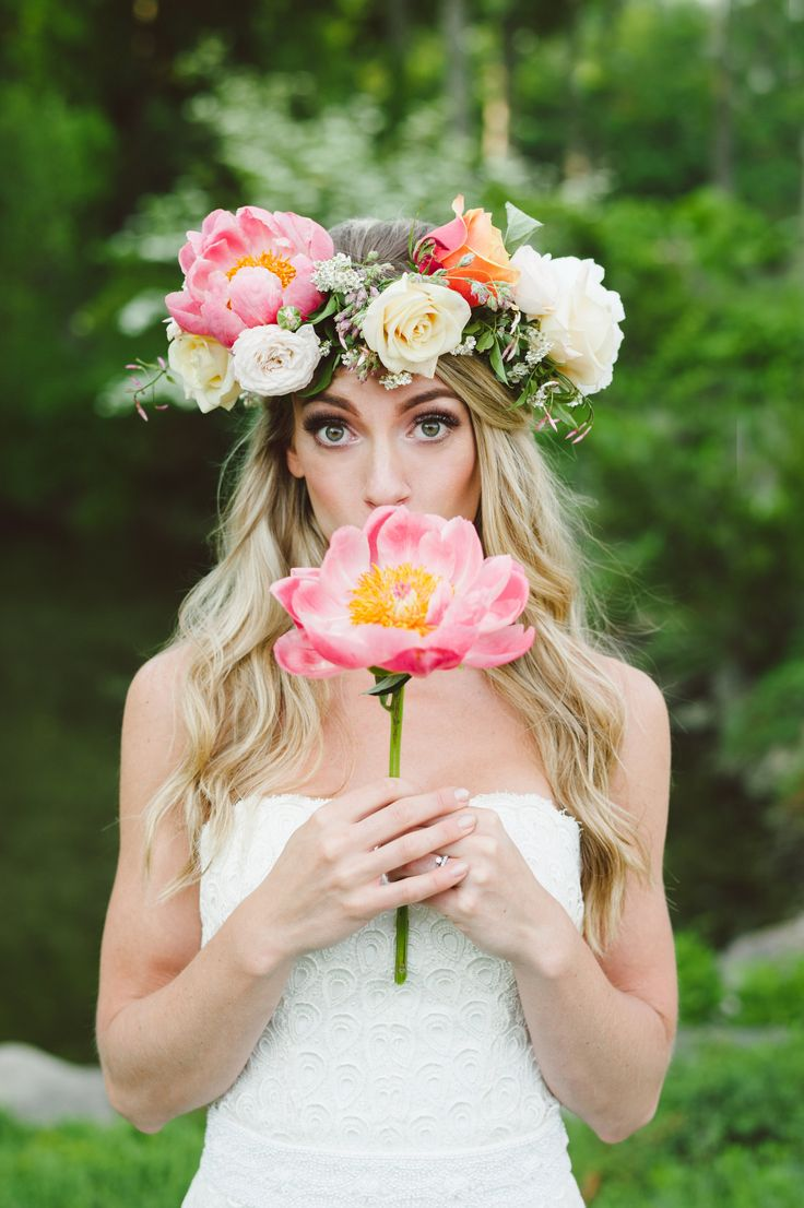 Wedding Trends 2016 Flower Crowns Wedding In Poland
