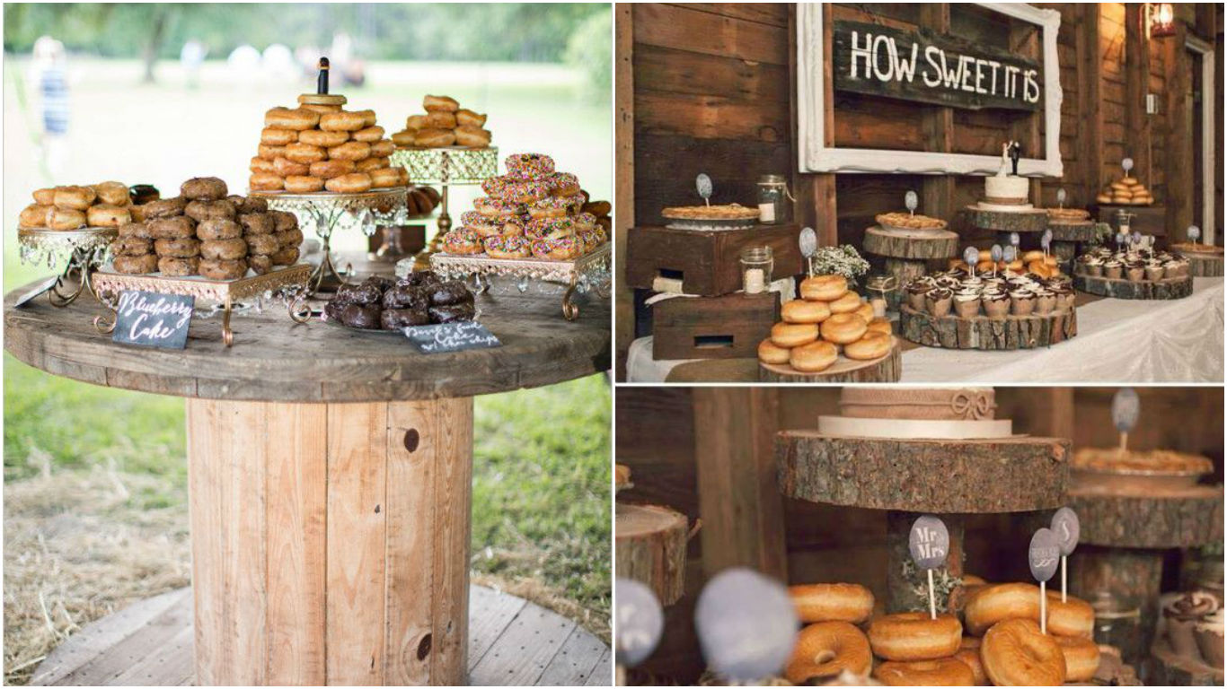 Sweet Inspirations Donuts Wedding Wedding In Poland