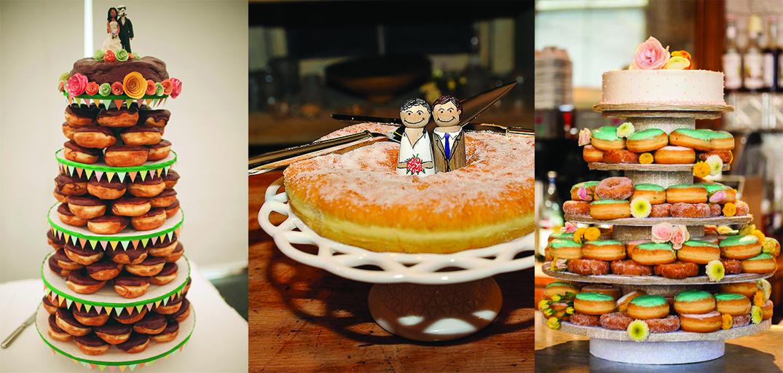 Your very own DONUT wedding cake Wedding in Poland