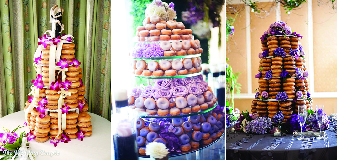 Your very own donut wedding cake wedding in poland a cake like that fits every wedding theme perfectly are you organizing an elegant wedding ball a dark chocolate golden glazed donut cake shall combine junglespirit Gallery
