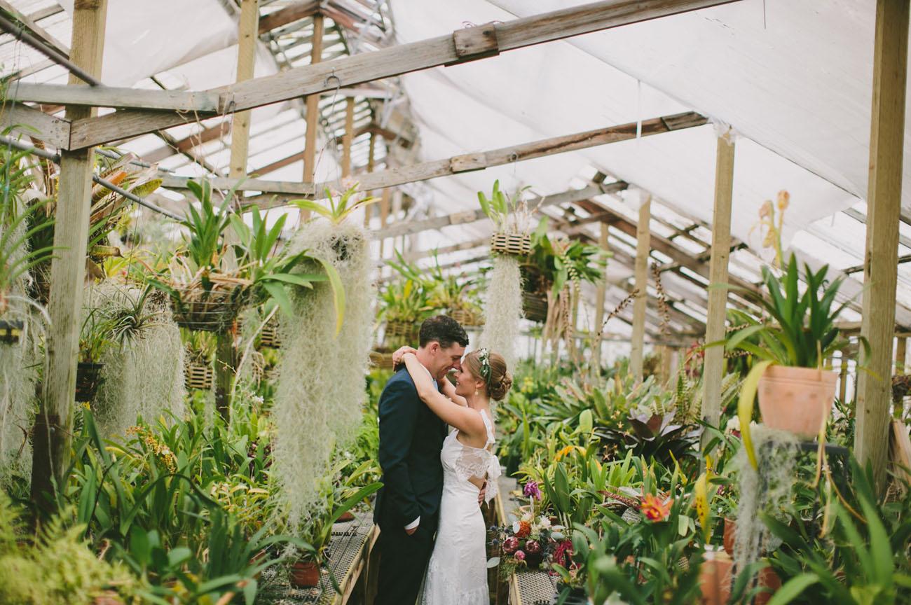 Vintage Wedding In Greenhouse Wedding In Poland