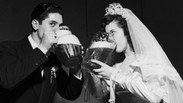 piwo na weselu beer at the wedding