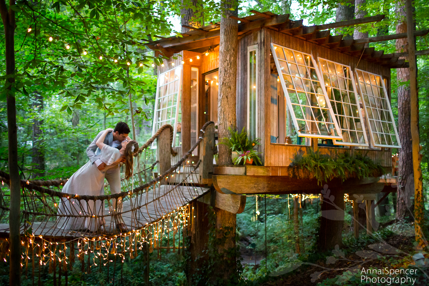 most wished for treehouse wedding in poland - Treehouse