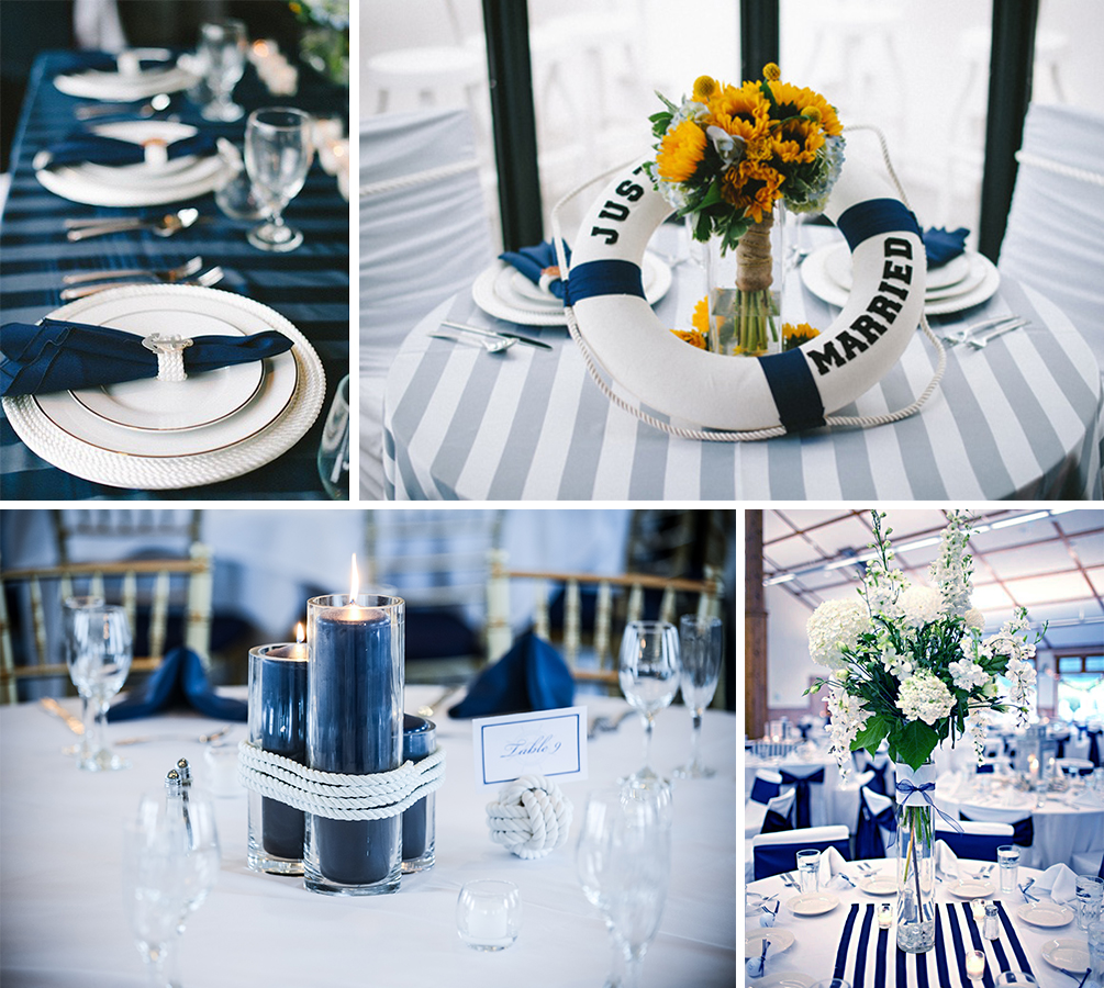 Ahoy captain marine wedding ideas wedding in poland for Decoration theme marin